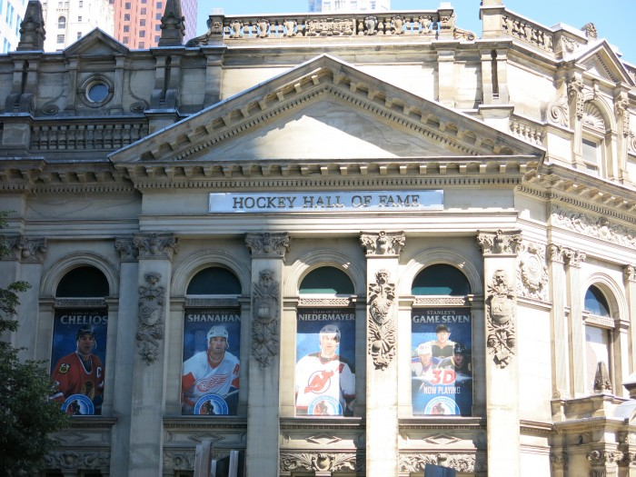 Hockey Hall of Fame in Toronto is the must attraction for all the Hockey lovers