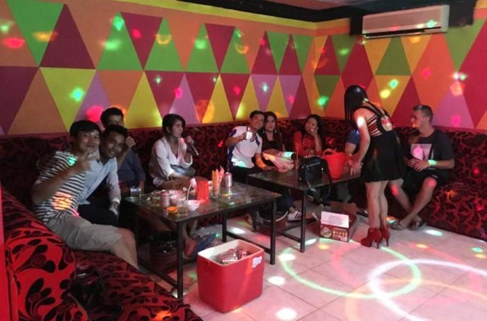 Awesome karaoke night