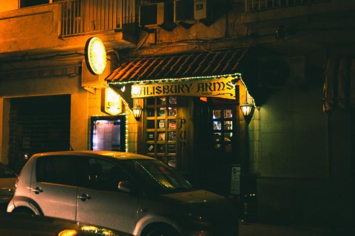 A sports bar too