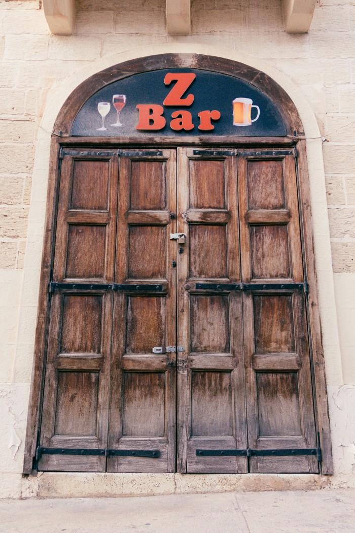 Z-Bar says ZZZZZZZZZ - it has closed its doors