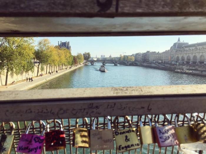 Seine, tuo rakastavaisten kanava