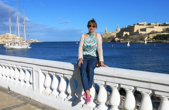 Maltalla vielä upee sää