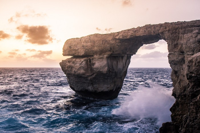 Malta's Azure Window is a popular sight on Gozo