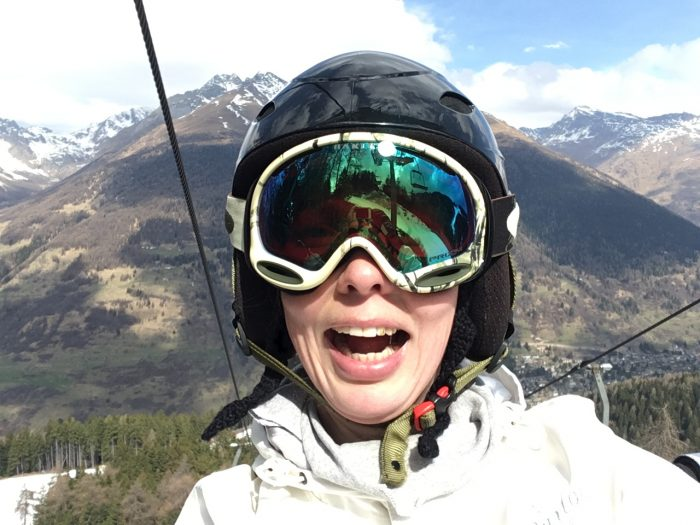 New Oakley classes when snowboarding in Italian Alps