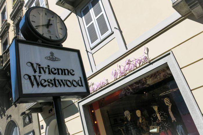 Vivienne Westwood store in Milan center