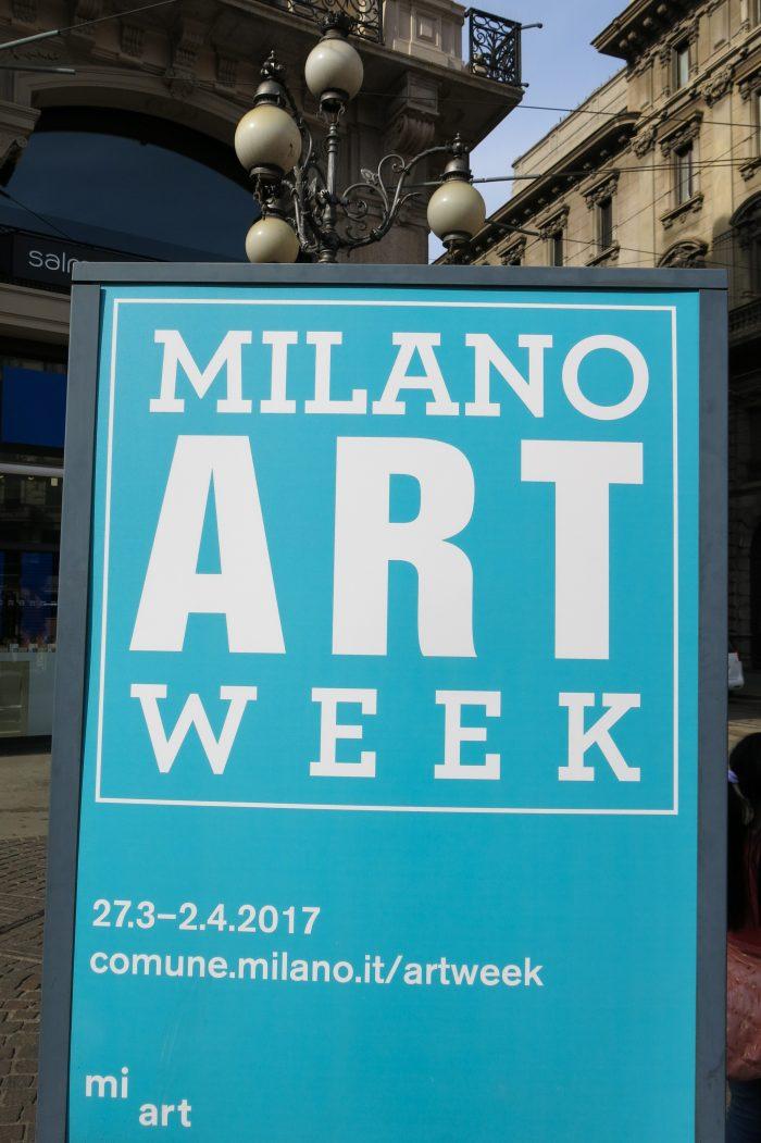 Milan Art Week poster