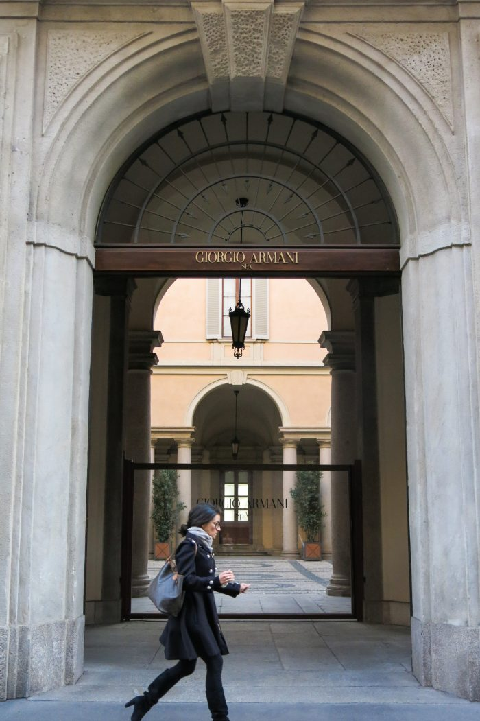 Giorgio Armani Spa Milanossa